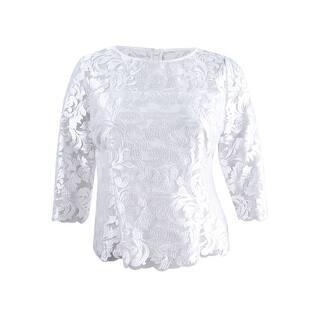 1957d218cbd0a4 Alex Evenings Womens Dress Top Woven Illusion. SALE. Quick View