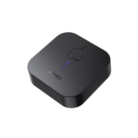 AUKEY Bluetooth Receiver V4.1 Wireless Audio Music Adapter A2DP With Hands-Free Calling And 3.5mm Stereo Jack