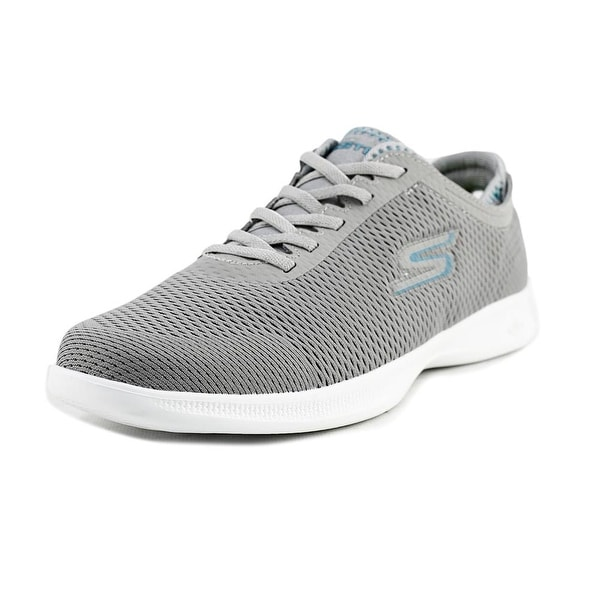 Skechers Go Step Lite - Persistence Women Round Toe Canvas Sneakers