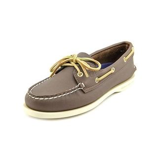 Sperry Top Sider A/O Sahara Moc Toe Leather Boat Shoe