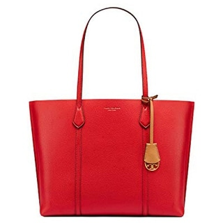 Link to Tory Burch Womens Perry Triple Compartment Tote in Red Similar Items in Shop By Style