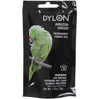 Dylon Permanent Fabric Dye 1.75oz-Amazon Green