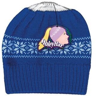 Women's Ponytail Knit Hat - Winter Wear