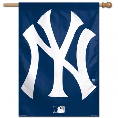 New York Yankees Banner 28x40 Vertical Alternate Design