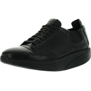 Mbt Mens Nafasi Laceup Shoes - Black