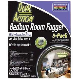 Bonide 571 Dual Action Bedbug Room Fogger, 2 Oz