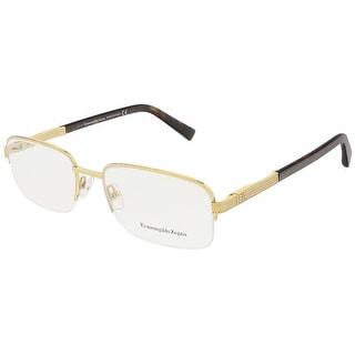 Ermenegildo Zegna EZ5011/V 030 Gold/Dark Havana Rectangular Opticals