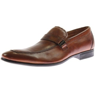 Florsheim Mens Burbank Bit Leather Slip On Loafers - 13 medium (d)