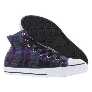 Converse Chuck Taylor Hi Plaid Girl's Shoes Size (3 options available)