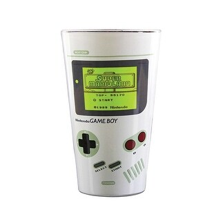 Nintendo Gameboy Color Change Pint Glass - Cold Temperature Image Reveal Cup