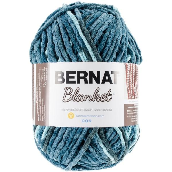 Shop Bernat Blanket Big Ball Yarn-Teal Dreams - teal dreams - Free ...