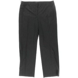 Jones New York Womens Wall Street Ponte Stretch Trouser Pants - 16