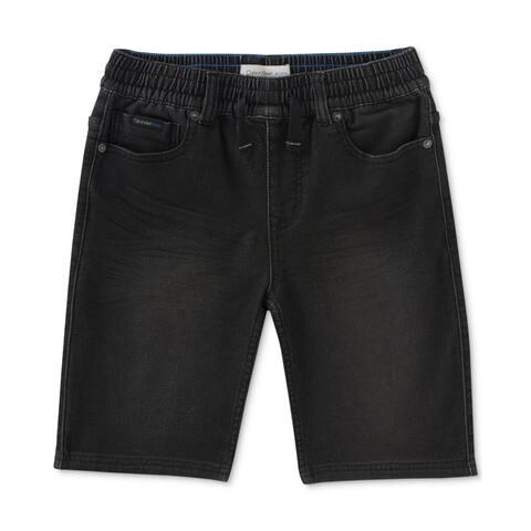 Calvin Klein Boys Knit Casual Denim Shorts - L (16)