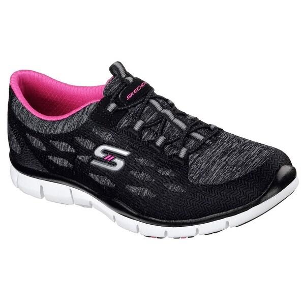 Skechers 22757 BKW Women's GRATIS - BLISSFULLY Sneakers
