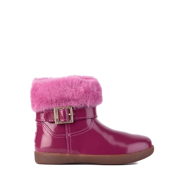 9629a7920d1 Shop UGG Toddler Girls Gemma Patent Leather Cuff Boots Size US10~RTL ...