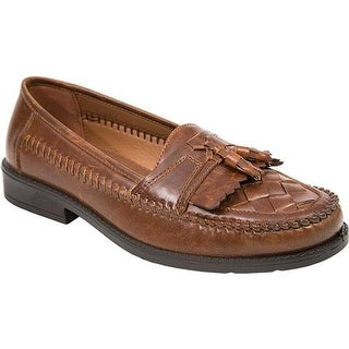 Deer Stags Men's Herman Loafer Cognac Simulated Leather