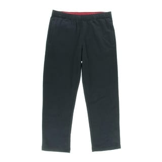 Nautica Mens Fleece Elastic Lounge Pants - M