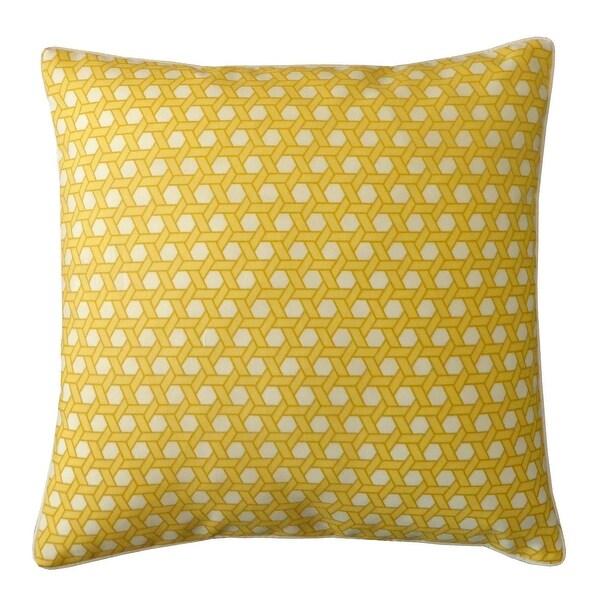 Jiti Yellow Lanyard Sunbrella Indoor / Outdoor Throw Pillow - 20 x 20 - 20 x 20. Opens flyout.
