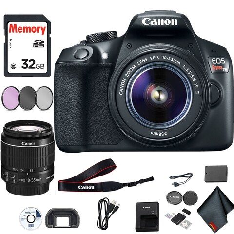 Canon Rebel T6 Camera & 18-55mm Lens Starter Package
