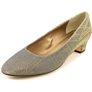 Vaneli Astyr W Round Toe Canvas Heels