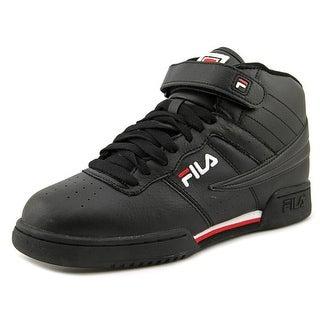 Fila F-13 Round Toe Leather Basketball Shoe