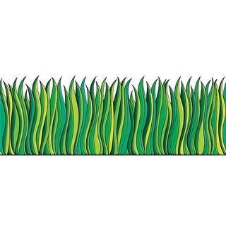 Tall Green Grass Accent Punch Outs