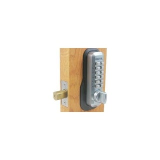 Lockey M210 Adjustable Maximum Security Mechanical Deadbolt from the M Series