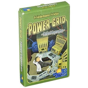 Rio Grande Games Power Grid Fabled Expansion Card Game