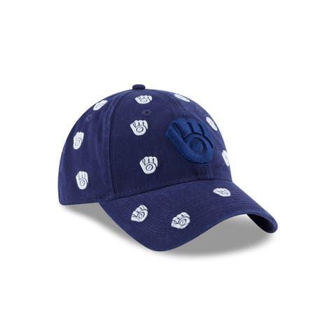 Milwaukee Brewers Logo Scatter 9TWENTY Women's Adjustable Hat