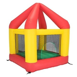 Bazoongi BH66OR 6.25 x 6 ft. Bounce House with Open Roof without Cover