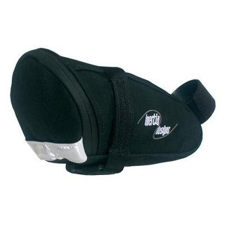 Inertia Pro 1 Wedge Bicycle Saddle Bag - Black