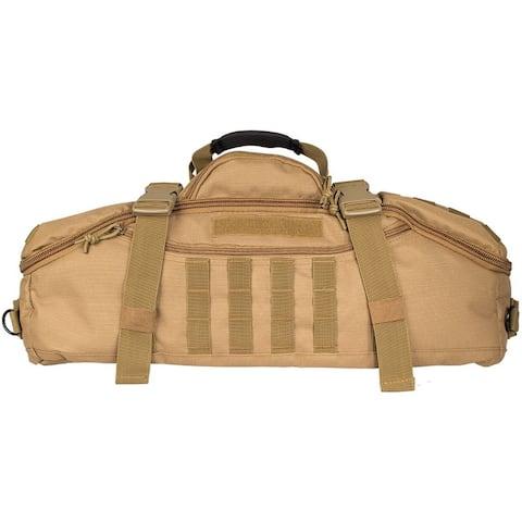 "Fox Outdoor Tactical Gear Bag Compact Recon Zip 22"" x 11"" x 11"" - 22 x 11 x 11"