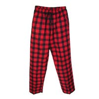 Boxercraft Flannel Pants with Side Pockets