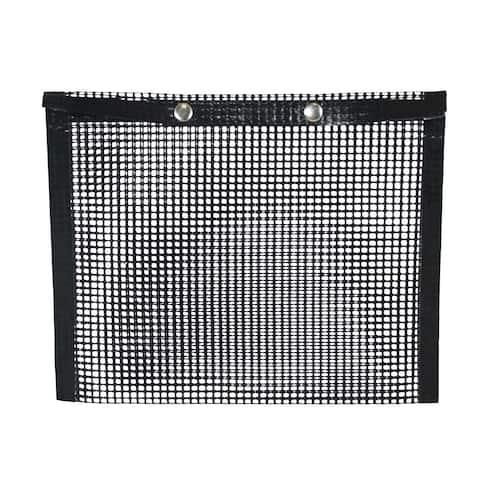 "Charcoal Companion Outdoor Grill Bag - Non-Stick Mesh Grilling Bag for Charcoal & Gas Grills, Medium 6""x8"" - Black - Medium Bag"