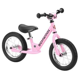 SCHWINN Bikes Toddler BALANCE BIKE, 12 Inch Without Pedals KIDS BICYCLE, Pink
