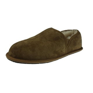 Ugg Australia Mens Scuff Romeo II Loafer Slippers Suede Lined - 10 medium (d)