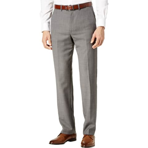 Ryan Seacrest Mens Modern-Fit Casual Trouser Pants