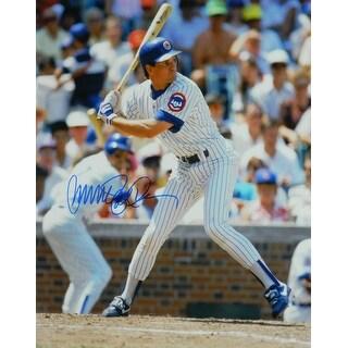 Ryne Sandberg Chicago Cubs Action 16x20 Photo