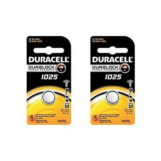 """""""Battery for Duracell DLCR1025 (2-Pack) Replacement Battery"""""""