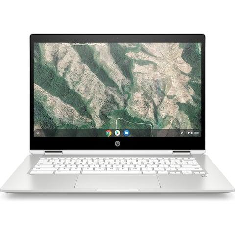 "HP 14"" Chromebook X360 HD Touch Intel N5000 4GB 128GB(Refurbished)"