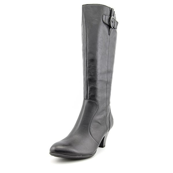 Born Womens Cassie Leather Almond Toe Knee High Fashion Boots