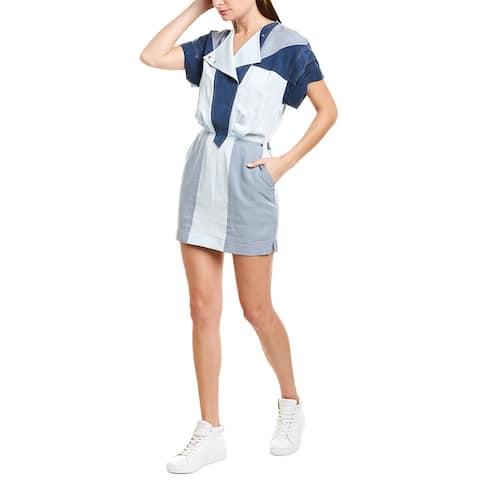 Derek Lam 10 Crosby Colorblock Mini Dress