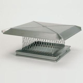 "Gelco 13110 12"" x 16"" 304 Stainless Steel Single-Flue Chimney Cap"