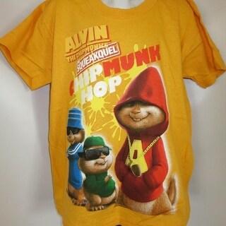 Alvin And The Chipmunks The Squeakquel Hip Hop Kids Medium M (5-6) Shirt