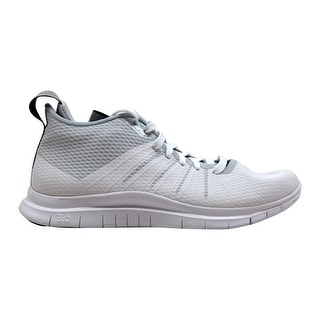 best loved a26ee ac742 Shop Nike Free Hypervenom 2 FS White Metallic Silver Men s 805890-101 Size  8 Medium - Free Shipping Today - Overstock - 19507801
