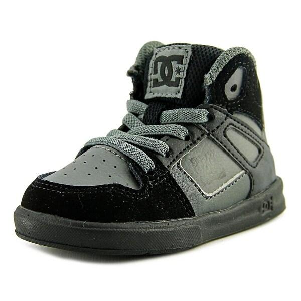 9d6ba33864 Shop DC Shoes Rebound UL Boy Grey Black Grey Athletic Shoes - Free ...
