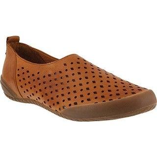 Spring Step Women's Hena Loafer Medium Brown Leather