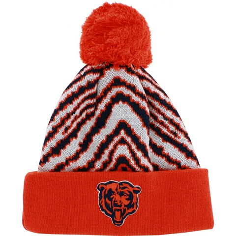 NFL Chicago Bears Youth Hat Knit Winter Pom Beanie
