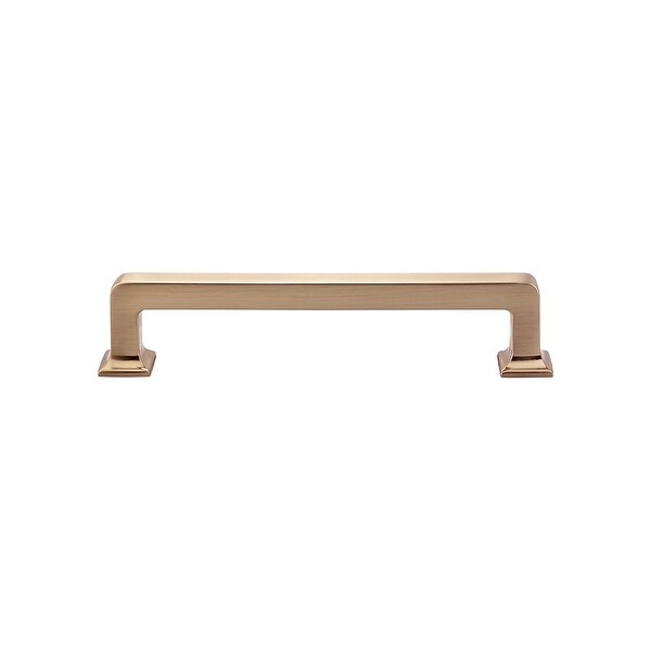 """Top Knobs TK704 Ascendra 5"""" (128 mm) Center to Center Handle Cabinet Pull from the Transcend Series - n/a"""