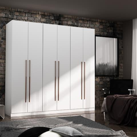 Gramercy Modern Freestanding Wardrobe Armoire Closet